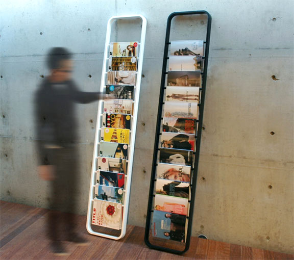 Magazine Stand Designs : Creative and cool magazine holders