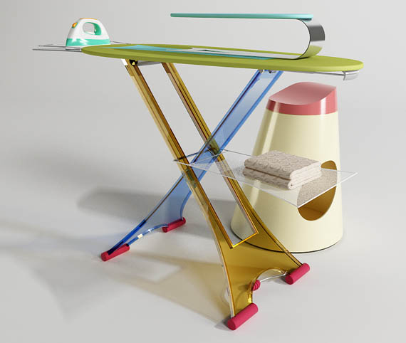 12 Creative And Cool Ironing Board Designs