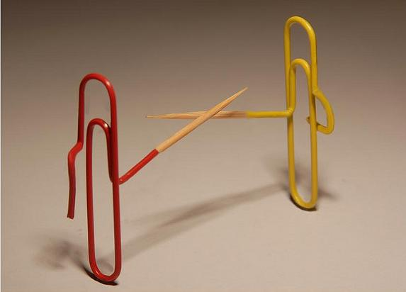 paper clip inspired products  artwork and designs