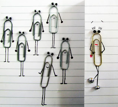 Paper Clip Inspired Products, Artwork and Designs (33) 29