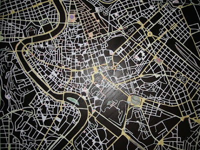11 Creative and Cool Hand Cut Paper Maps (11) 11