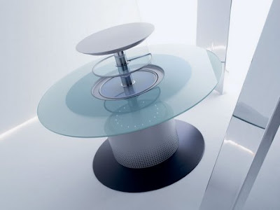 Modern and Innovative Integrated Dining Tables (15) 15