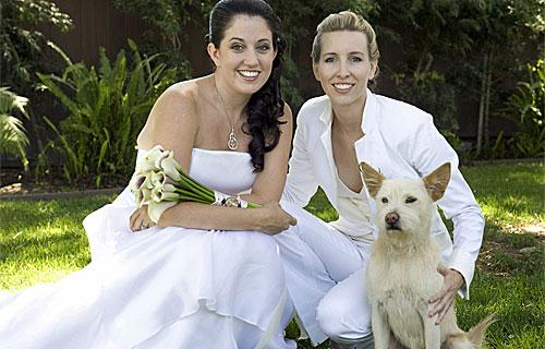 Gay lesbian marriage