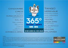 COORDINACION GENERAL DE LOS 365º ANIVERSRIO DE CHACARITA