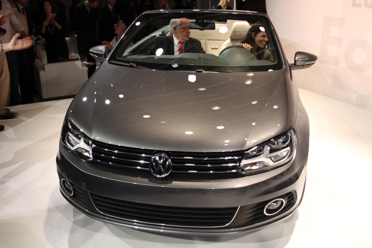 Volkswagen Eos Revealed Vivid Car - Eos car show