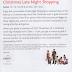 Christmas Late Night Shopping