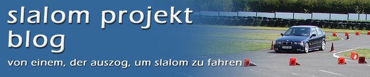 slalom projekt blog