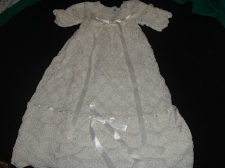 Free Knitting Pattern Baby Christening Gown : Knit and Pray: CHRISTENING GOWNS WANTED