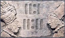 Números mayas.