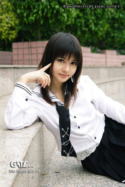Asian Faces Girls: Asian School Girl Styles