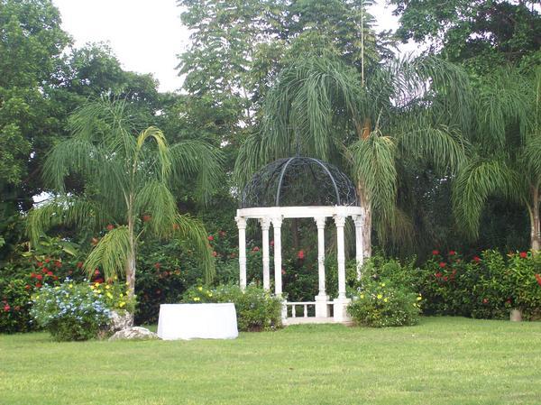 One of the lovely garden gazebo 39s at Sandals Grande Ocho Rios Resort in