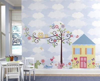 Min stil: Wallstickers til barnerommet