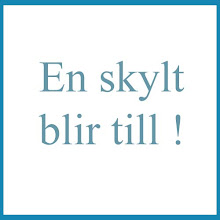 En skylt blir till