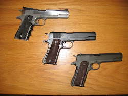 Three different M1911A1s
