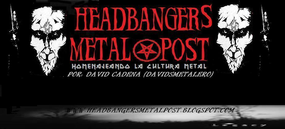 HEADBANGERS METAL POST