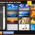 Imagem de fundo no novo design ou layout original do Blogger