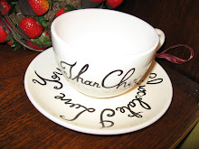 Sweet cup and saucer!