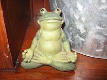 Yoga frog!