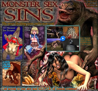Cruel 3D Monsters