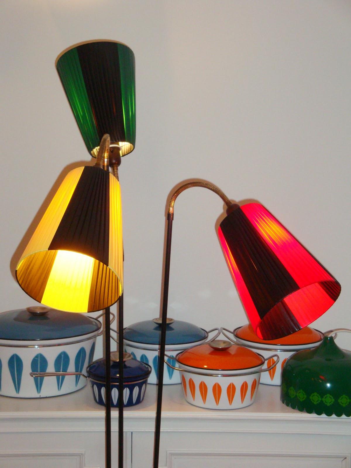 Lotus Standerlampe - Ugler i posen Retro fund
