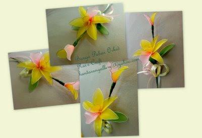 Rai's Craft: Bunga Pahar / Bunga Telur Stokin