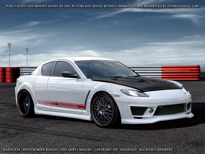 Brunei Sport Car: wangan kit for ur rx-8