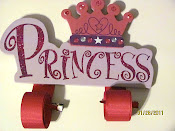 Princess Bow Holder $10.00