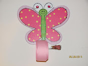 Butterfly Bow Holder $7.00