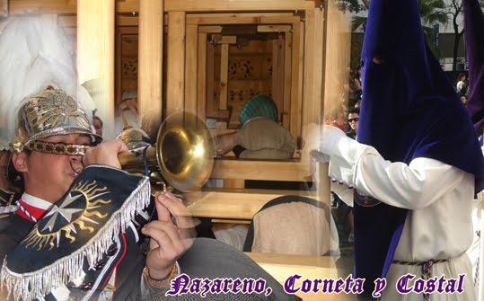 Nazareno,corneta y costal