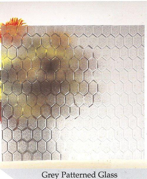 زجاج خلية النحل البنى 4مم