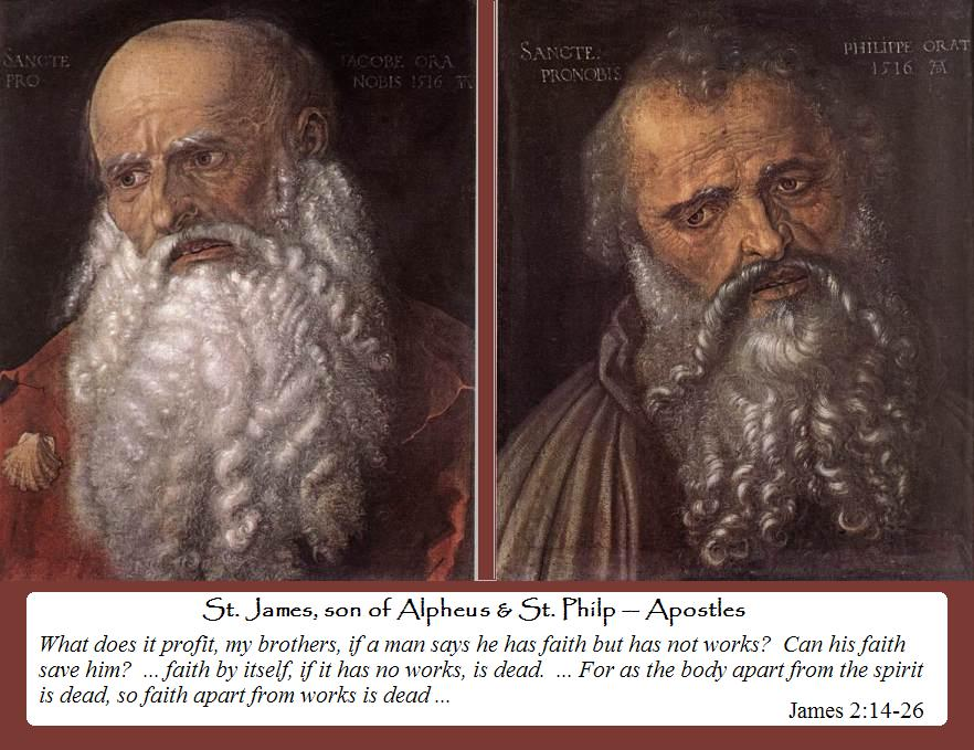 Saints Philip and James, Apostles dans images sacrée jphilip+and+james+0503