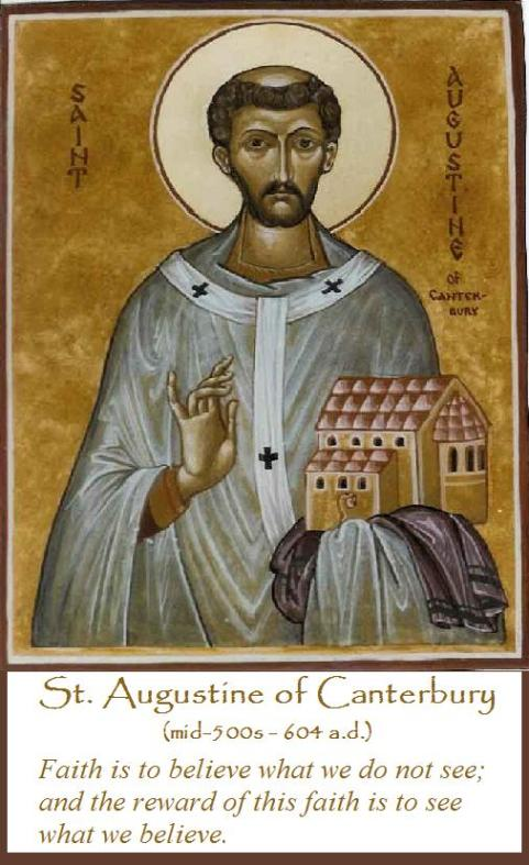St augustine of canterbury not to be confused with st augustine of