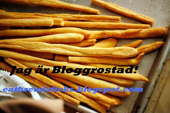 Jag är Bloggrostad!