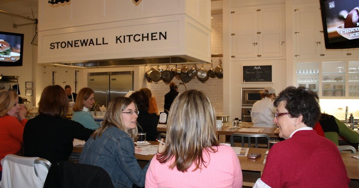 Cafe Chatelaine Life In Sweet New England Stonewall Kitchen Cooking School York Maine