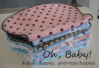 Floating On Cloud9: Tutorial | Contoured Burp Cloths