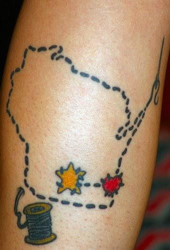 Wisconsinnative susan smith cool wisconsin tattoo for Tattoo madison wi