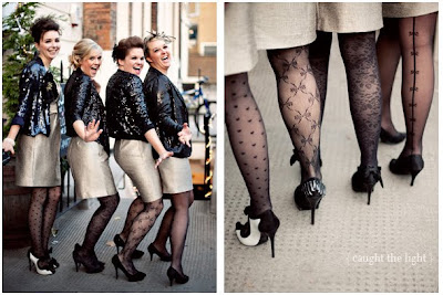 Bridesmaid Accessories &#8211; Tights!