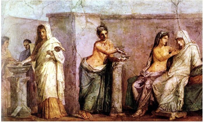 Matrimonio Romano Concepto : Um olhar sobre o mundo das artes a pintura romana