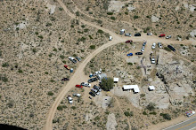 Mojave Cross site from the air