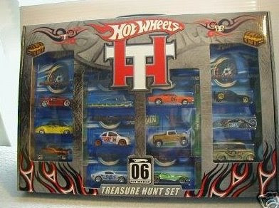 HOT WHEELS 2006 TREASURE HUNT SET