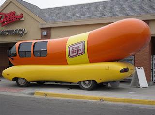 Logo i imatge des foro Hot-Dog-vehicle