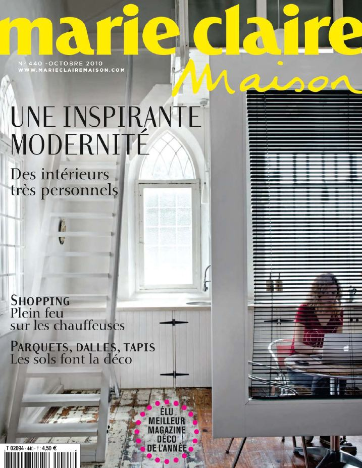 Best Movie 2011: Interior Design Magazines   Marie Claire Maison October  2010.10
