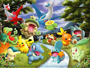 olhem esses wallpapers de pokemon que lindo!