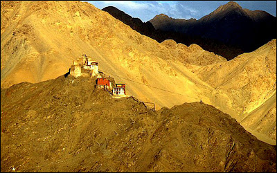 The Gompa monastery, Leh