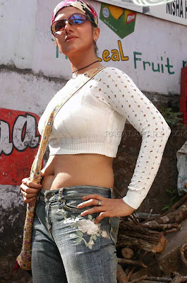Rambha in jeans and top