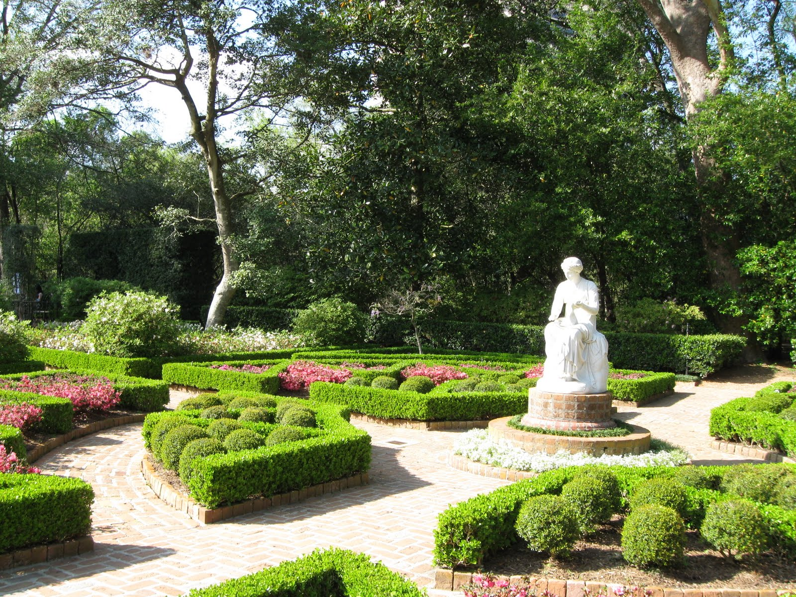 Public Domain Photos And Images Garden At Bayou Bend