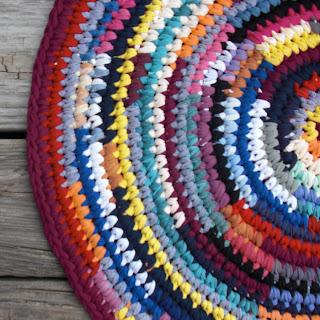 How to Make A Crochet Rag Rug | eHow