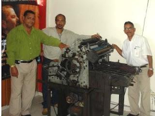 La agencia de Noticias CRN adquiere una impresora AB-DICK 385