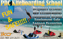 PDC Kiteboarding School and Water Sports Center Website