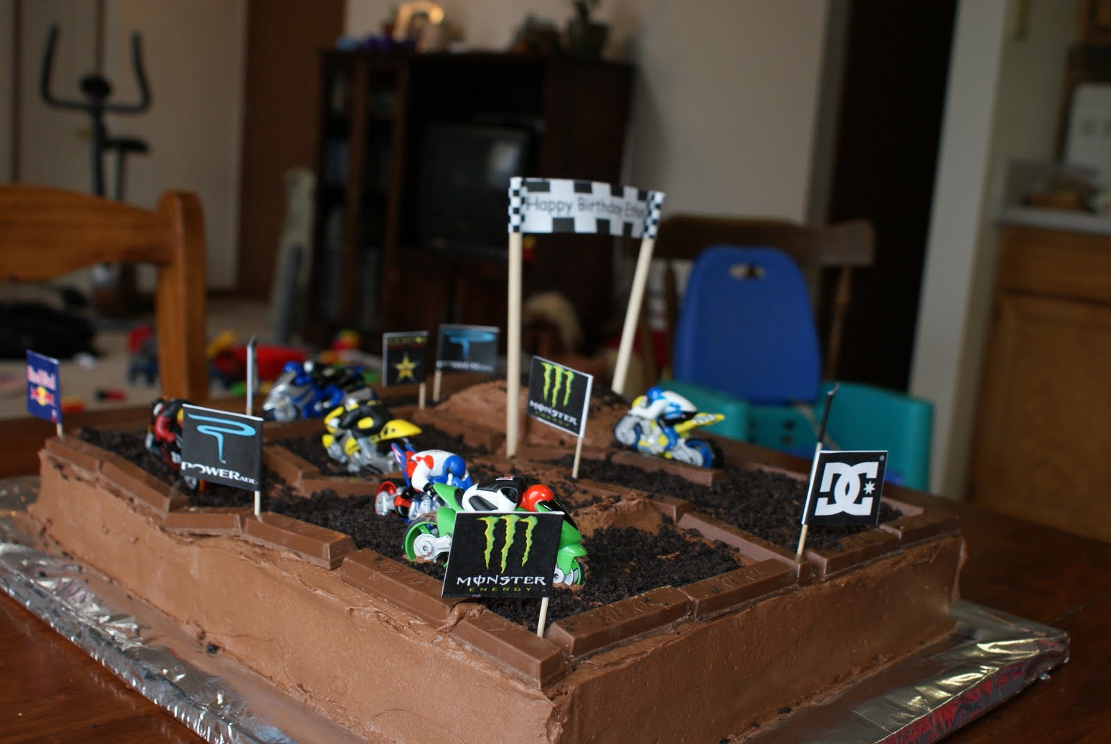 dirt bike cake - photo #48